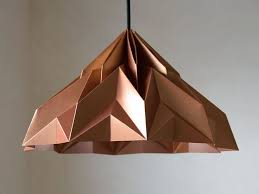 Origami Light Fixture 137 Best Origami Lamps Images On Pinterest Origami Lampshade