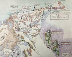 Map Of Everest The Explorers Club News U201cbecause It U0027s There U201d