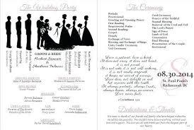 wedding program templates free wedding program template wedding bulletin wedding program rustic