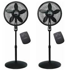 kenmore 18 inch stand fan with remote shop oscillating fans sears