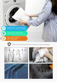 how to wash light colored clothes favorable 5pcs mesh laundry bags travel storage packing wash clothes