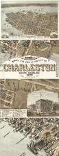 Home Decor In Charleston Sc Use Framed Maps For Wall Decor This One Is Of Charleston Sc