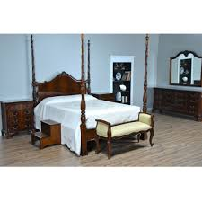Four Poster Bed Frame Queen by Mahogany Queen Size Four Poster Bed Niagara Furniture
