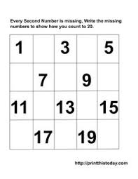 number writing 1 20 note to self i have downloaded this file to
