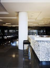 hotel puerta america creation and decoration of the restaurant