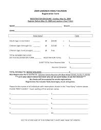 registration form word template templates for baby shower wanted