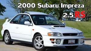subaru hatchback custom rally 2000 subaru impreza 2 5rs coupe 5 speed awd 26th youtube