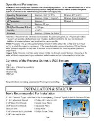 watts premier ro pure 531411 4 stage reverse osmosis system