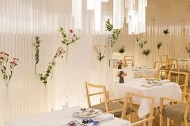 kengo kuma turns plastic tubes into ethereal restaurant decor curbed