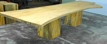 Large Wooden Dining Table by Custom Dining Tables Dumond U0027s Custom Furniture