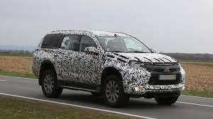 mitsubishi indonesia 2016 2016 mitsubishi pajero sport spied with heavy camo
