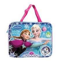 disney princess frozen tuition bag blue pink colour lazada