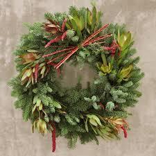 fresh christmas wreaths fresh wreath designs for christmas and chanukah