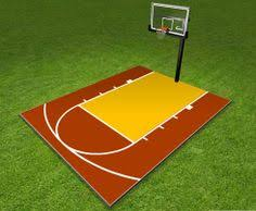 Backyard Sport Courts by Back Yard Basketball Court Dimensions Basketball Court Plan View