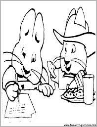 max and ruby coloring pages for eson me