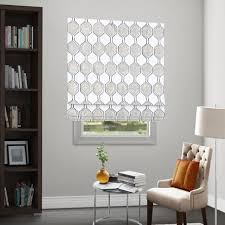 Flat Roman Shades - custom fabric roman shades in limitless styles and fabrics only
