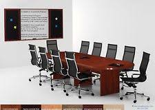 Conference Table With Chairs Conference Table And Chairs Ebay