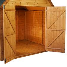 How To Build A Storage Shed Cheap by How To Buy Replacement Wood Shed Doors For Your Back Yard Storage