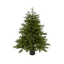 1 2m emerald fir artificial pvc pe mix tree in a pot