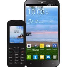 prepaid android phones talk alcatel pop mega android prepaid smartphone