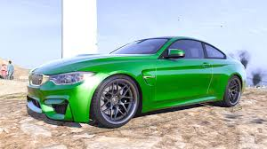 green bmw m4 bmw m4 f82 2015 add on replace animated gta5 mods com