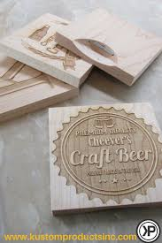 custom engraved coaster craft beer designs craft beer crafts