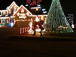 Christmas Lights On House by Omaha La Vista House With Christmas Lights To Music U2014las