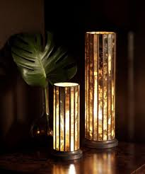 cool table lamps woodland imports the cool driftwood metal table