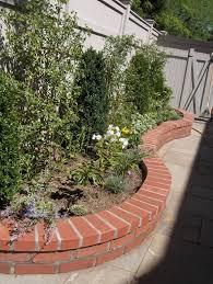 Small Garden Retaining Wall Ideas Best 25 Brick Wall Gardens Ideas On Pinterest Plants For Small