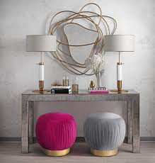 Ottoman Tulip by Tulip Grey Velvet Ottoman From Tov Furniture O109 Coleman