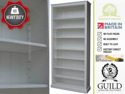 White Bookcases Uk by Handmade Heavy Duty Bookcases With Care From Heartland Interiors
