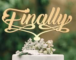 Unique Wedding Cake Toppers Unique Cake Topper Etsy