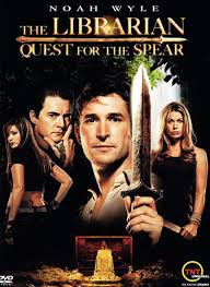 dustin off the reels the librarian quest for the spear movie review