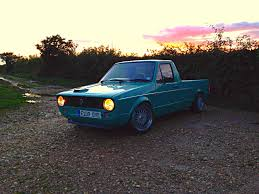 volkswagen caddy pickup mk1 mk1 vw caddy pick up show car 1 8 16v gti golf in seaton