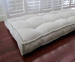 Daybed With Mattress Linen Daybed Mattress Custom Cushions Tufted Linen Cushion