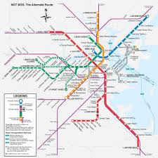 Boston Hubway Map by T Map Boston Map Of T Map Boston United States Of America