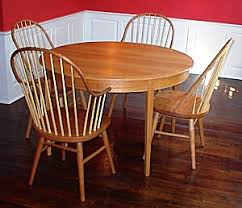 Round Cherry Kitchen Table by Round U0026 Oval Extension Tables Handmade In Vermont From Cherry