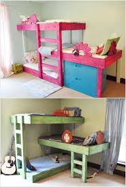 Bunk Bed For Toddlers 15 Diy Kids Bed Designs That Will Turn Bedtime Into Fun Time