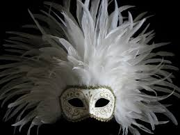 white masquerade masks for women dominique piume real white gold designer masquerade mask