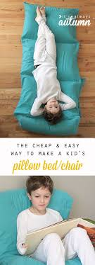 pillow bed for kids how to make a kids pillow bed the easiest cheapest way it s