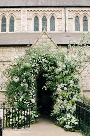 wedding flower arches uk chiswick house gardens wedding by m j photography