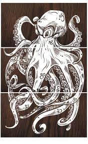 octopus decor octopus art octopus wall art octopus print octopus painting