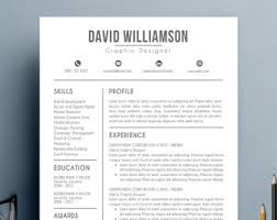 Resume Template With Cover Letter Modern Resume Template Cover Letter Reference Letter For