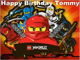 ninjago cake toppers a4 ninjago lego edible icing or wafer birthday cake top topper