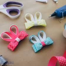 ribbon hair bow tips and tutorials ribbon and bows oh my