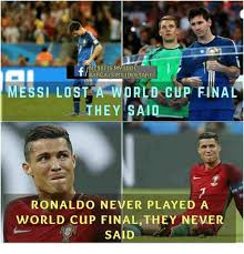 World Cup Memes - messi is my idol barca is my idoltary messi lost a cup final they