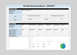 website traffic report template how to build a marketing report quickly free template coschedule
