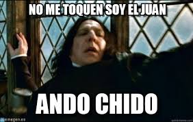 Juan Meme - no me toquen soy el juan snape meme on memegen