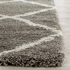 Plush Runner Rugs Wonderful Rugs Lovely Ikea Area Runner Rug On Gray Shag Regarding