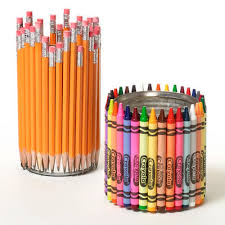 cool pen holders to make cool crayon and pencil holders